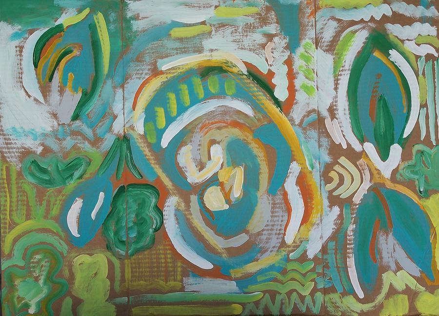 Gren Painting - Green by Jay Manne-Crusoe