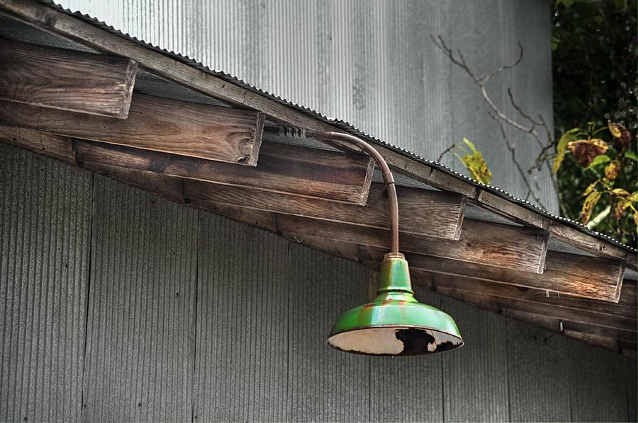 Antique Photograph - Green Light by Brenda Bryant