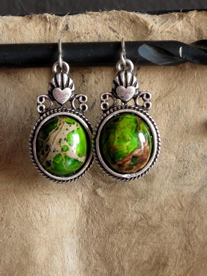 Jewelry Jewelry - Green Turqoise by Jan Brieger-Scranton