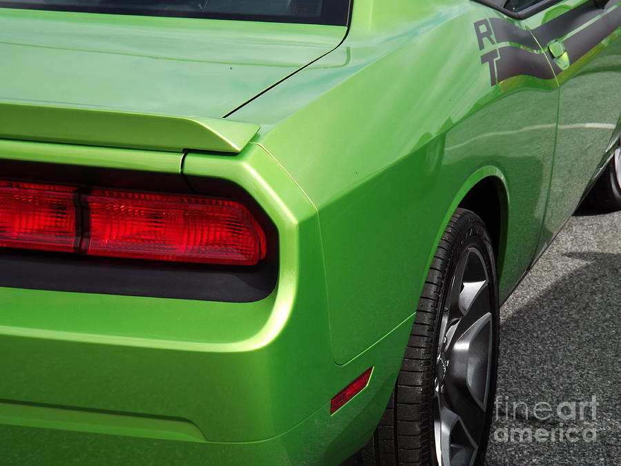 Dodge Photograph - Green With Envy by Chad Thompson