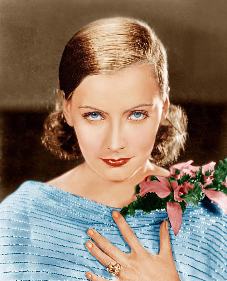 1920s Portraits Photograph - Greta Garbo, Mgm Portrait, Ca. 1928 by Everett