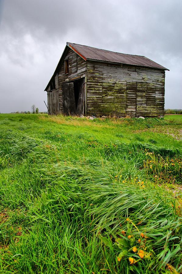 Grey County Barn Photograph