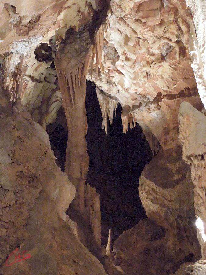 Colette Photograph - Grotte Magdaleine Region Ardeche France by Colette V Hera  Guggenheim