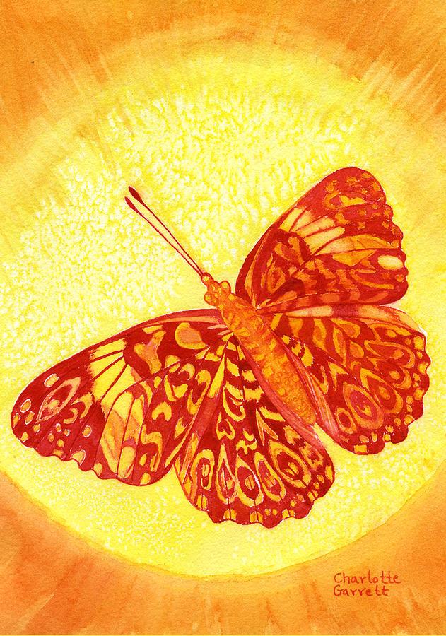 Grounded Butterfly by Charlotte Garrett