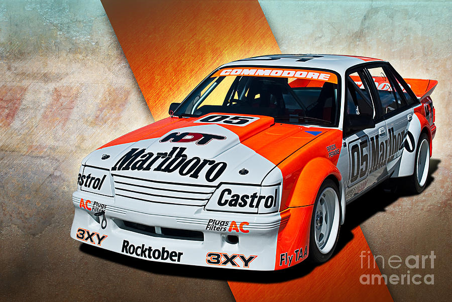 Commodore Photograph - Group C Vk Commodore by Stuart Row