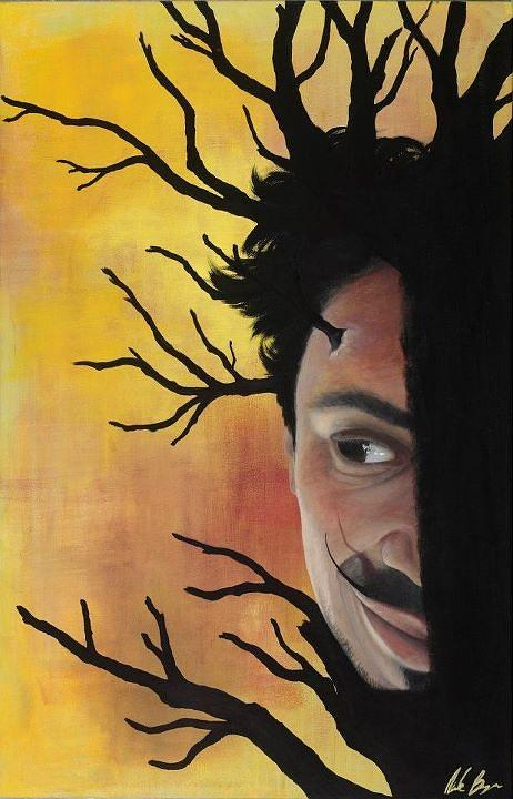 Man Painting - Growth Of A Man by Nicole Williams