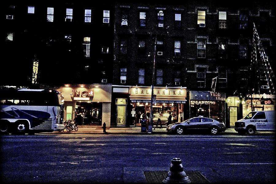 Nyc Photograph - Grunge Street by Robert Ponzoni