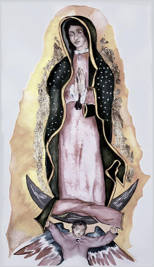 Religion Painting - Guadalupe by Myrna Migala