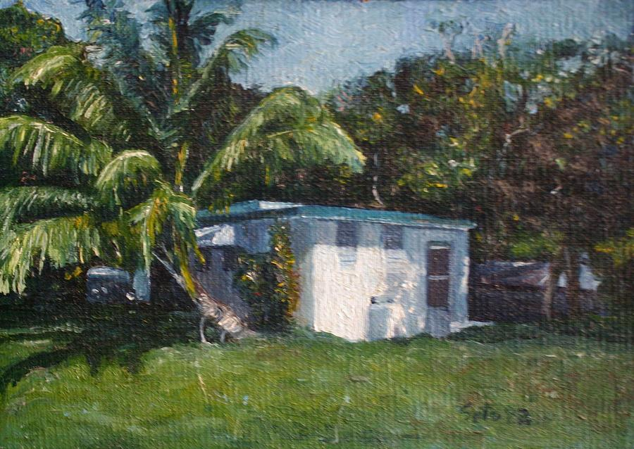 Houses Painting - Guest House In Aguada by Victor SOTO