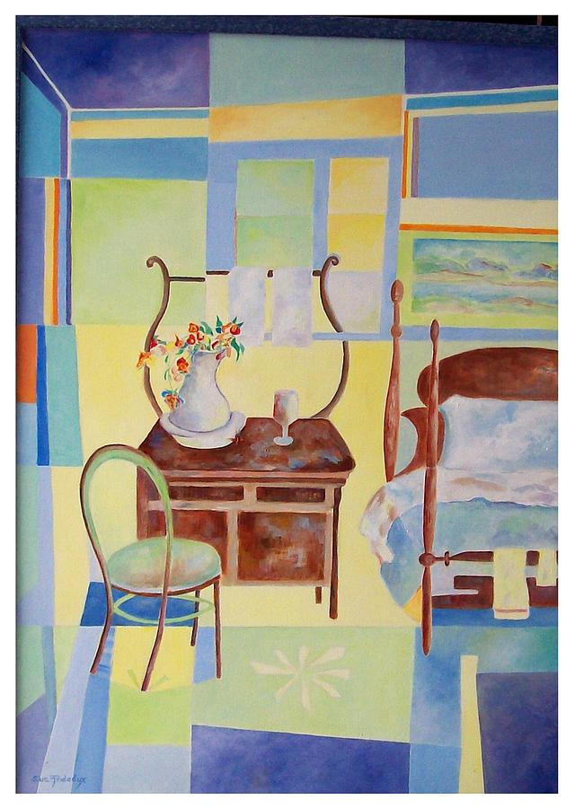 Guest Painting - Guest Room  by Sue Prideaux
