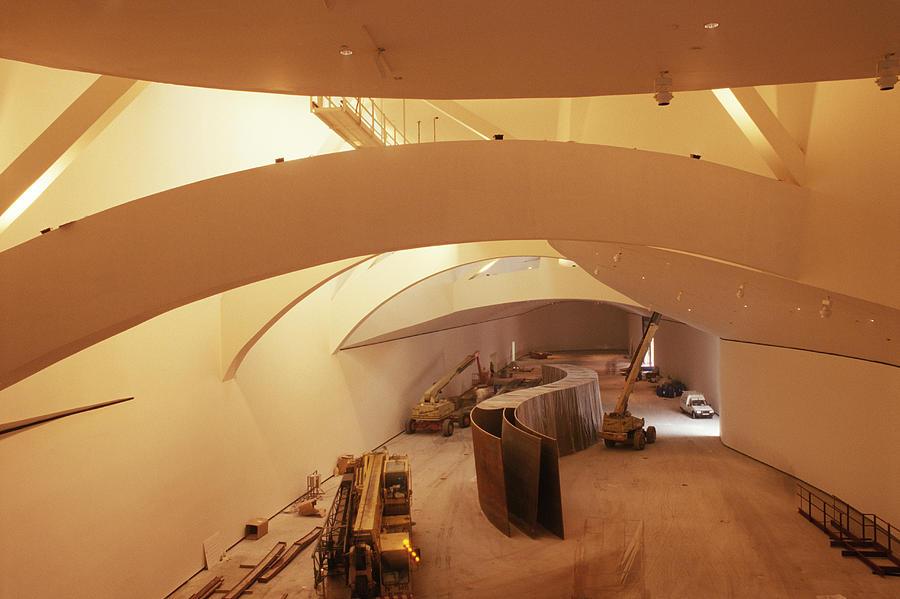 Guggenheim Museum Interior Photograph By Carlos Dominguez
