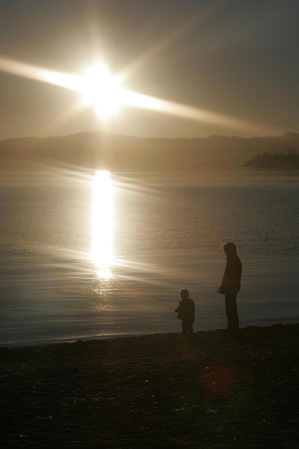 Lake Tahoe Photograph - Guiding Light by Adam Blankenship