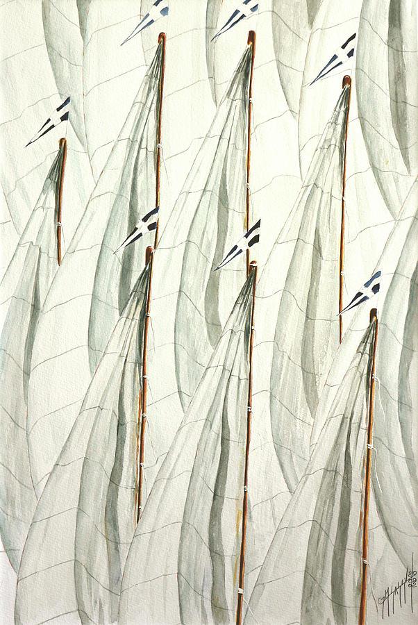 Sassu Painting - Guidoni by Giovanni Marco Sassu