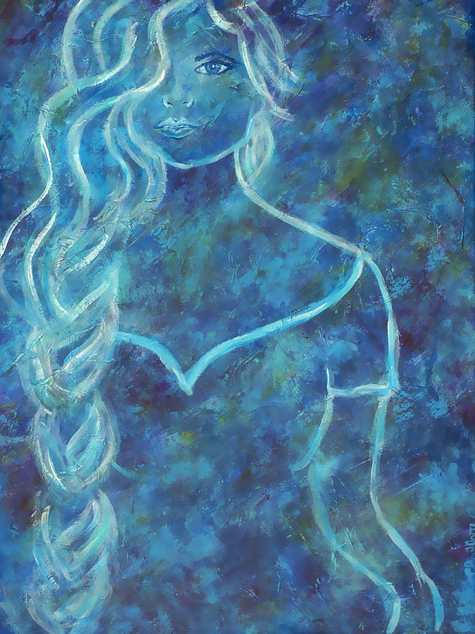 Feminine Painting - Guinevere by The Art With A Heart By Charlotte Phillips