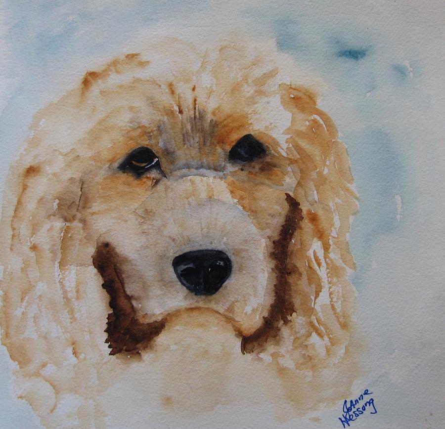 Cocker Spaniel Painting - Guiseppi by JoAnne Hessong