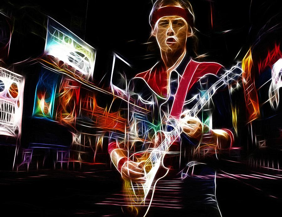 Guitar Hero Painting by Steve K