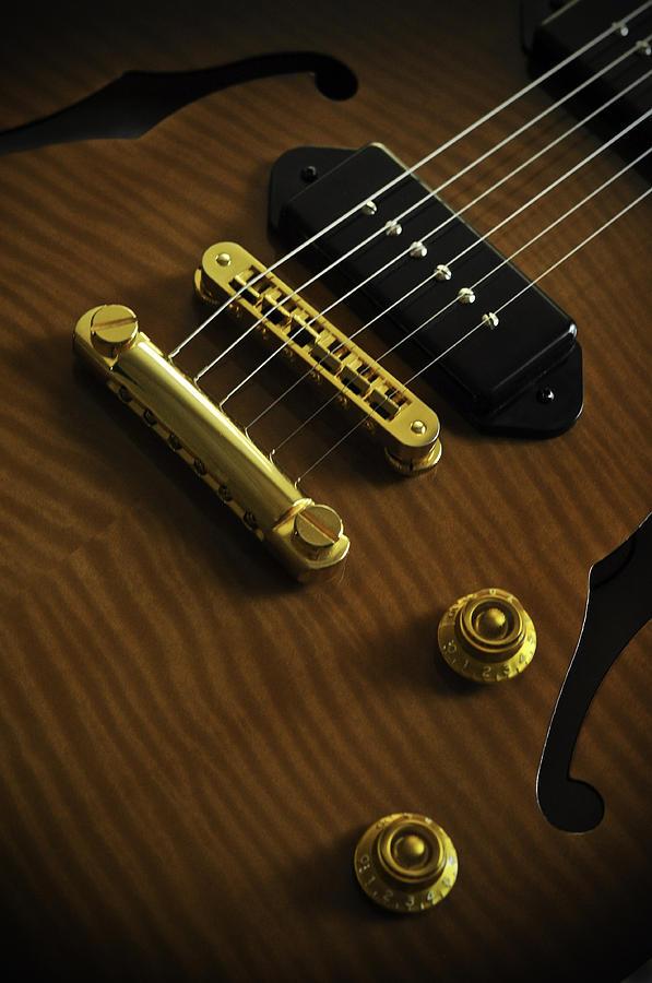 Guitar Photograph - Guitar by Mauricio Jimenez