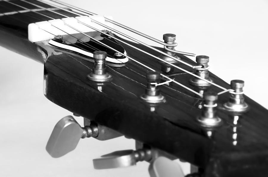Accord Photograph - Guitar by Svetlana Sewell