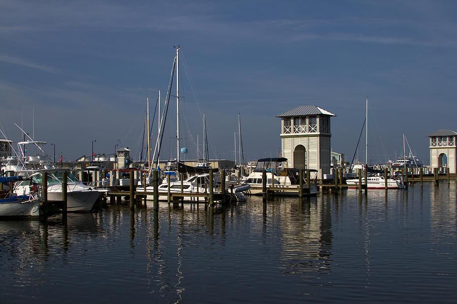 Harbor Photograph - Gulfport Harbor by Diane Carlisle