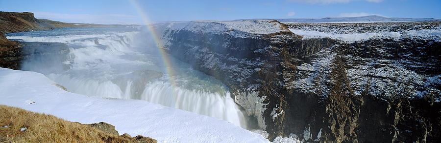 Gullfoss Falls Photograph - Gullfoss Falls by Chris Madeley