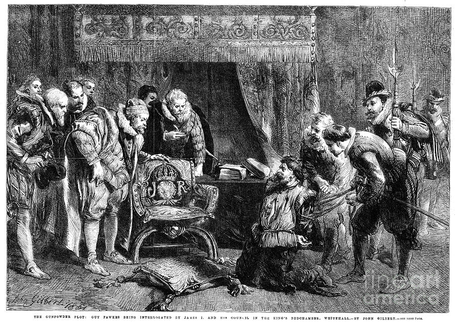 Gunpowder Plot, 1605 Photograph by Granger