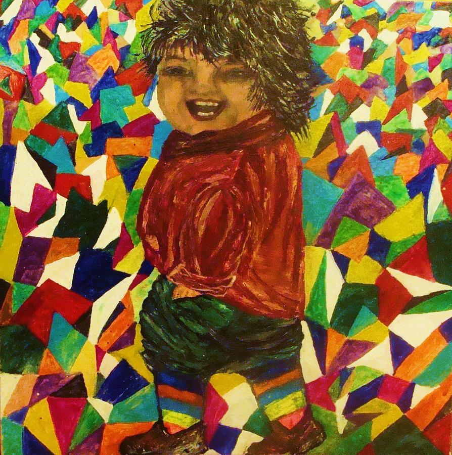 Portrait Painting - Gypsy Joy by Jeanne Mytareva