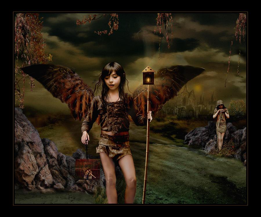 Fairies Photograph - Habitantes Nocturnos by Raul Villalba