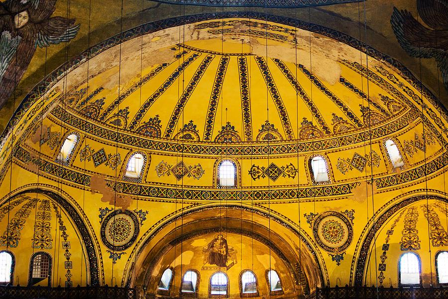 Hagia Photograph - Hagia Sophia Architecture by Artur Bogacki