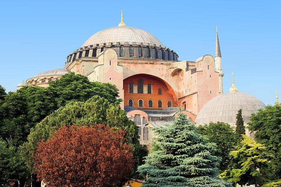 Ayasofya Photograph - Hagia Sophia by Artur Bogacki