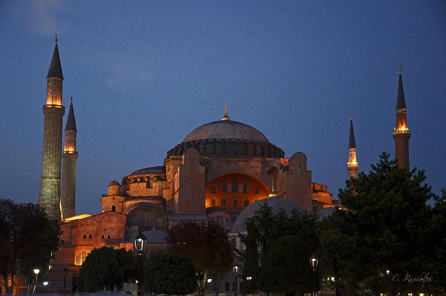 Hagia Sophia Photograph - Hagia Sophia by Cheri Randolph