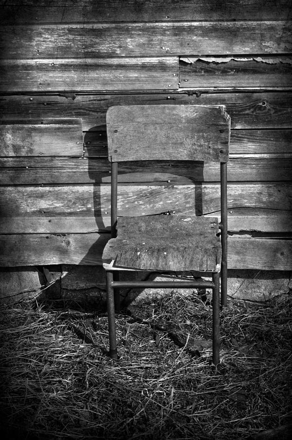 Chair Photograph - Hair Cut  by Jerry Cordeiro