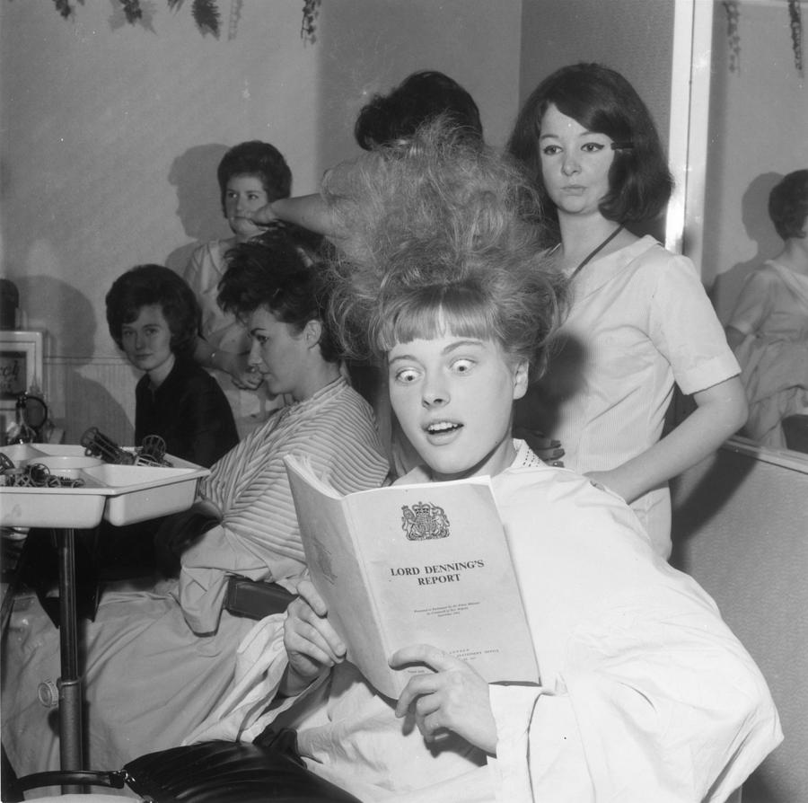 Young Adult Photograph - Hair-raising Report by George Freston