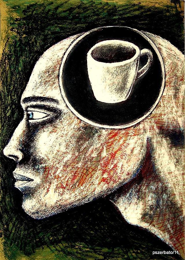 Lies Digital Art - Half Cup Of Stupidity by Paulo Zerbato