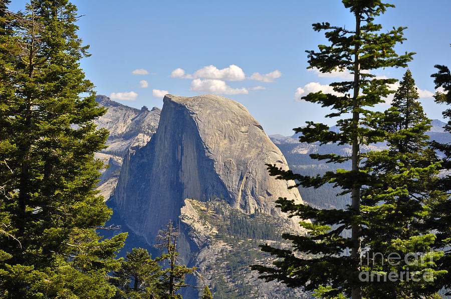 Half Dome Photograph - Half Dome by Camille Lyver