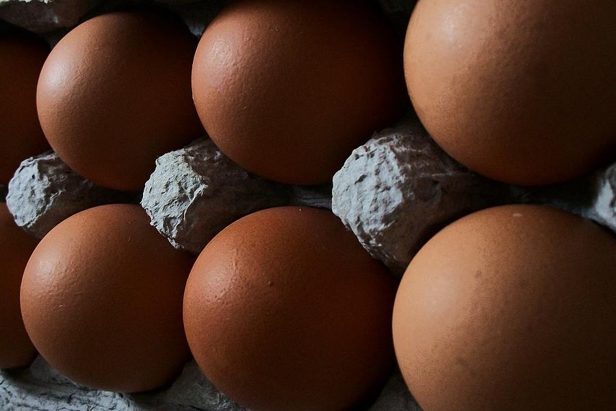 Eggs Digital Art - Half Dozen by Wide Awake Arts