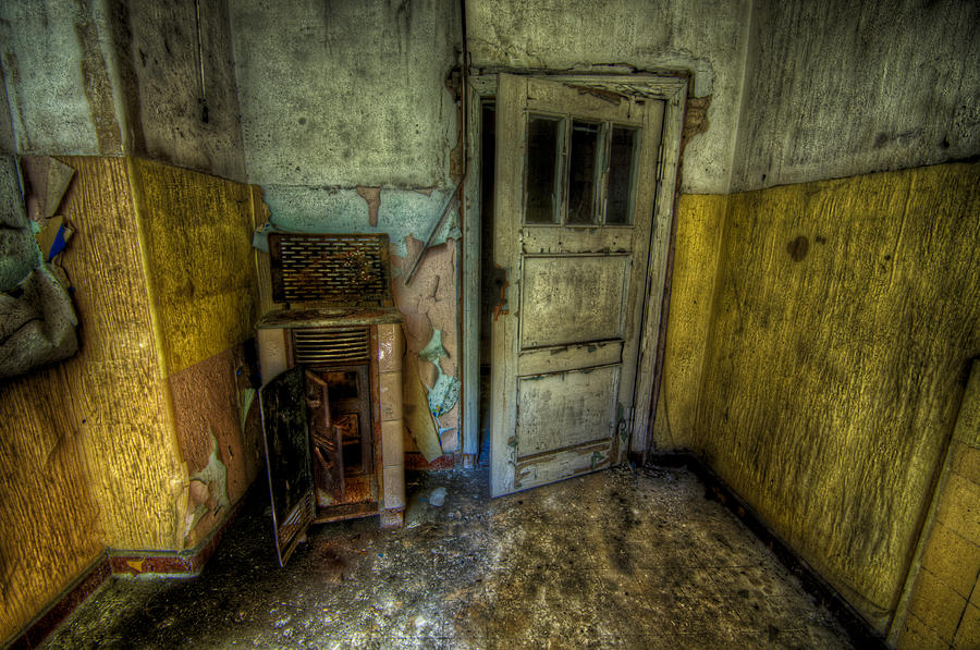 Ailing Photograph - Half Yellow by Nathan Wright