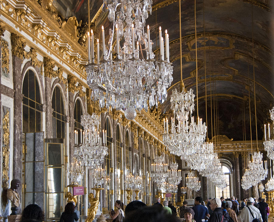 Hall Of Mirrors At Palace Of Versailles France Photograph By Jon