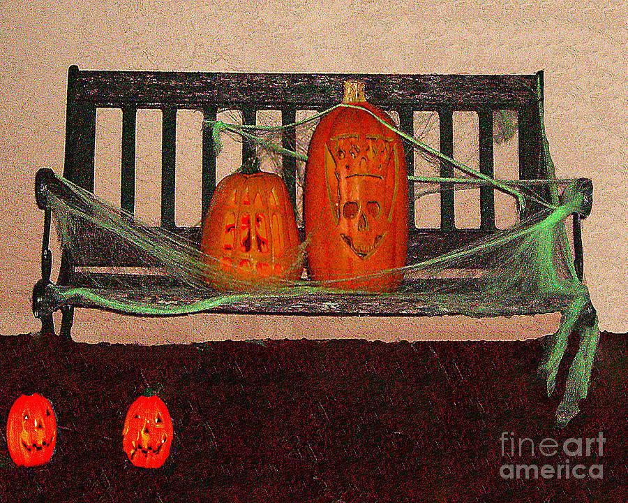 Halloween Photograph - Halloween Decoration by Merton Allen
