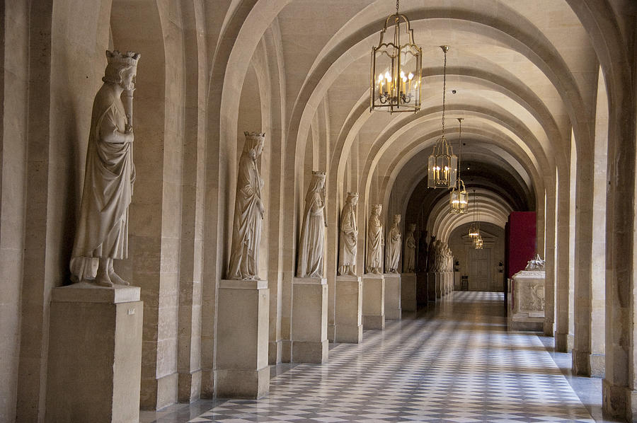 Hallway In Palace Of Versaille Photograph By Jon Berghoff