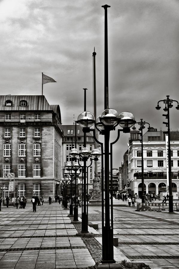 Hamburg Photograph - Hamburg Walk by Edward Myers
