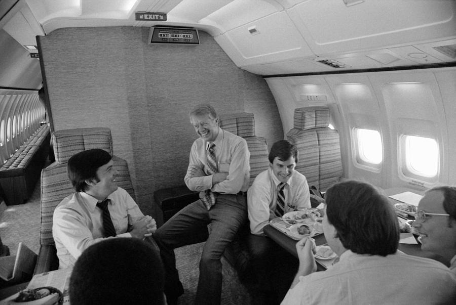 History Photograph - Hamilton Jordan Jimmy Carter And Other by Everett