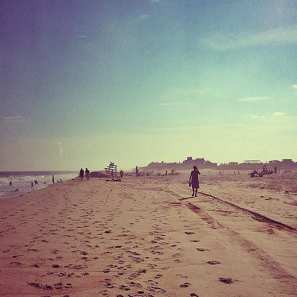 Hamptons Photograph - #hamptons #beach by Evan Kelman