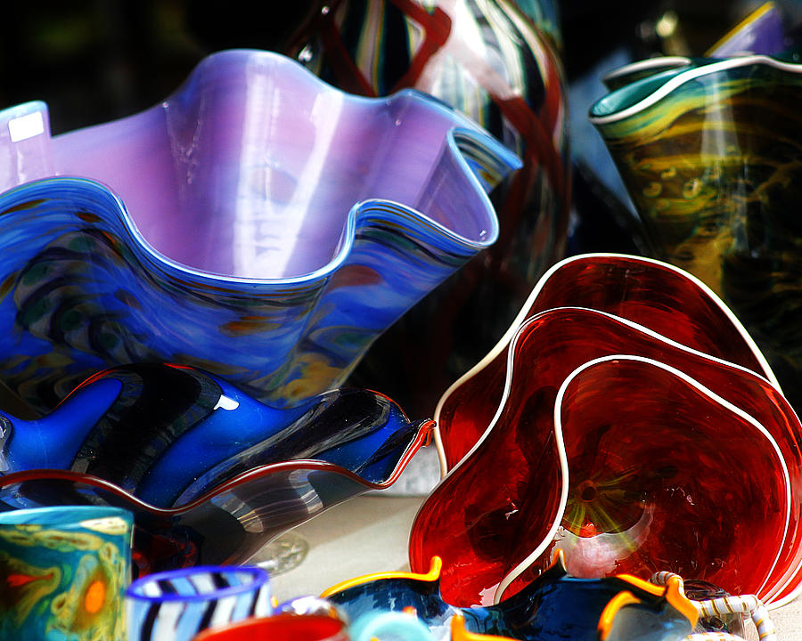 Hovind Photograph - Hand Blown Glass 5 by Scott Hovind