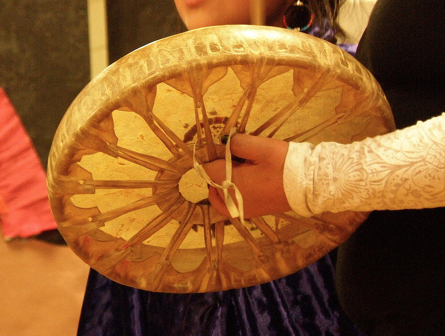 Hand Drums Photograph - Hand Drum by FeVa  Fotos
