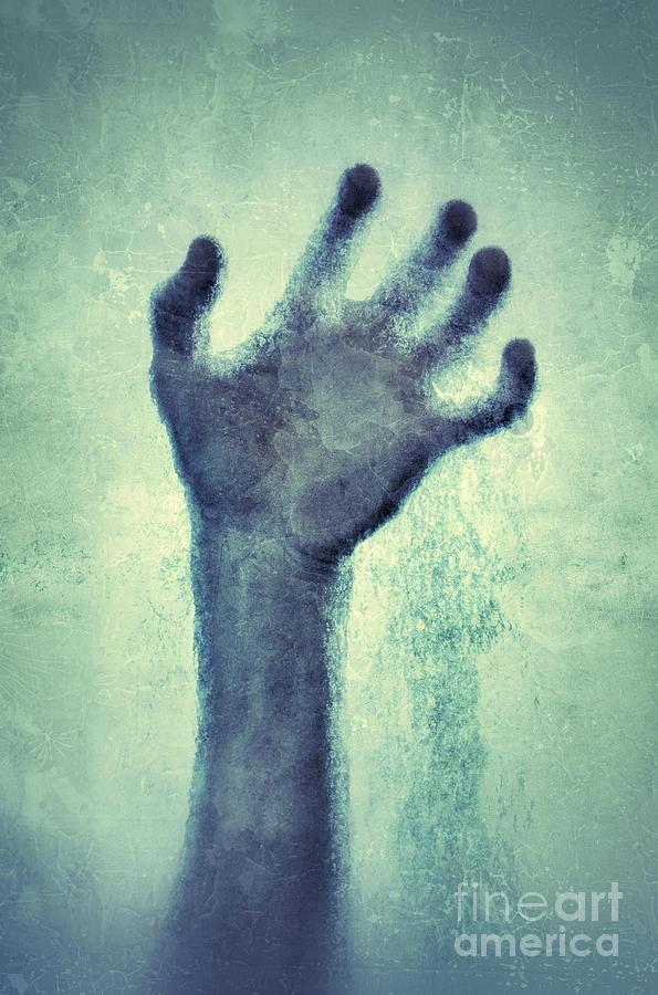 Hand Incased In Ice Photograph By Jill Battaglia