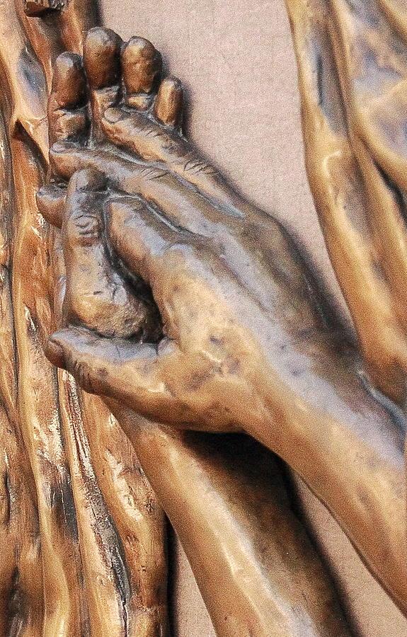 Hands Photograph - Hands Of Faith by David Schmerer