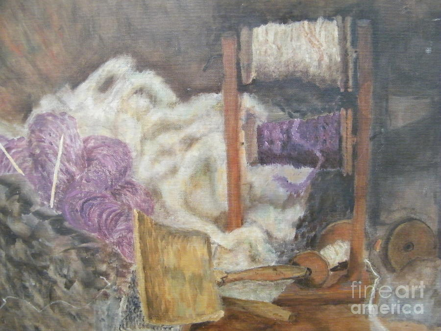Still Life Painting - Handspun by Delores Swanson
