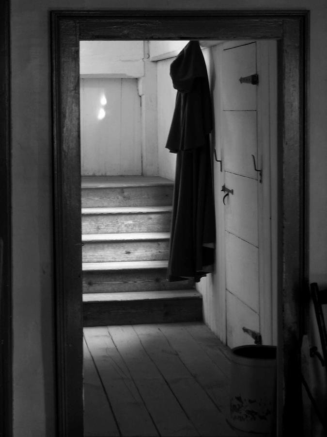 Cloak Photograph - Hanging Cloak by Ed Bertorello