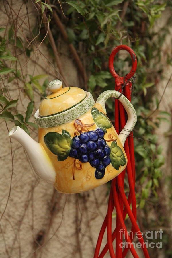 Hanging Tea Pot Photograph