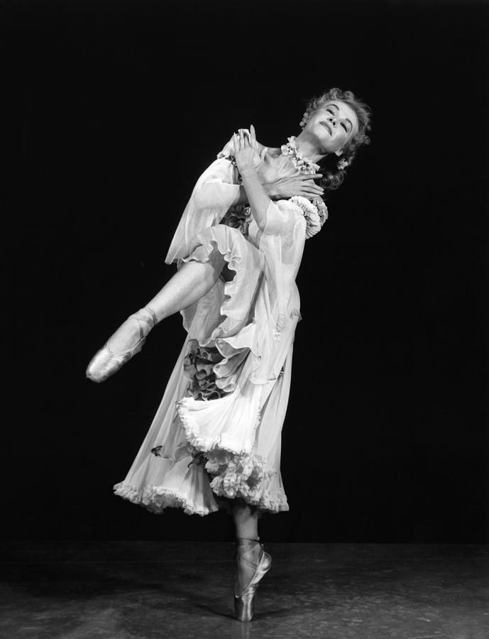 1950s Portraits Photograph - Happy Go Lovely, Vera-ellen,1951 by Everett